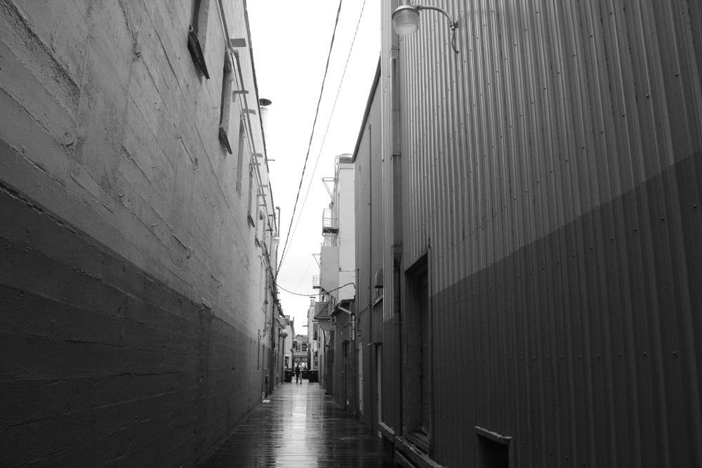 Alley by Krishnan Vaitheeswaran