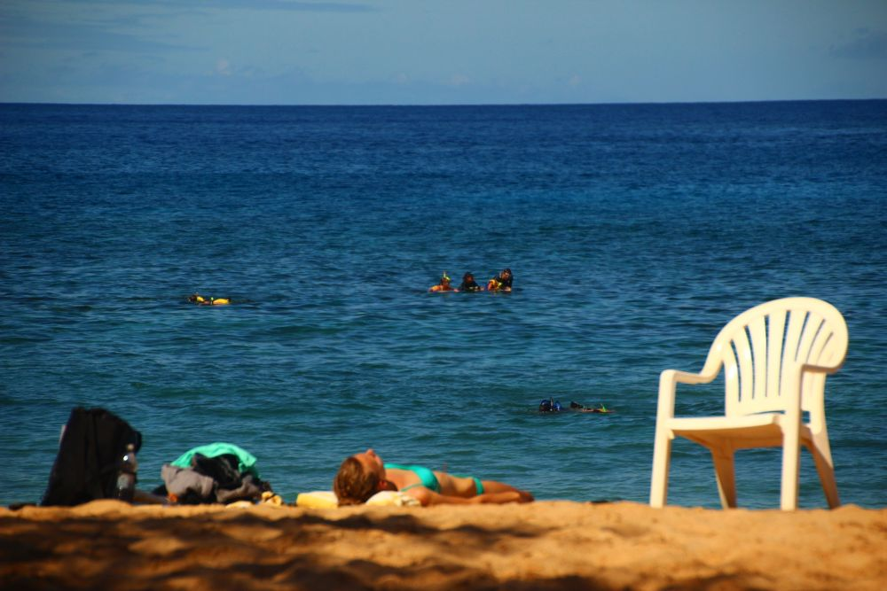 Beach vacancy by Krishnan Vaitheeswaran