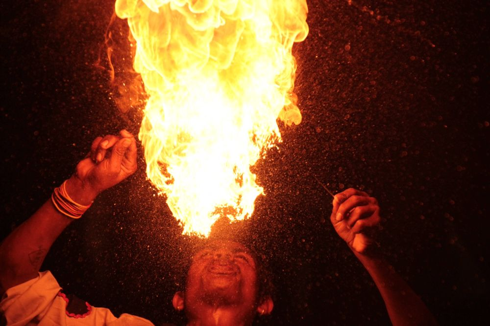 Pyrotechnics by Krishnan Vaitheeswaran