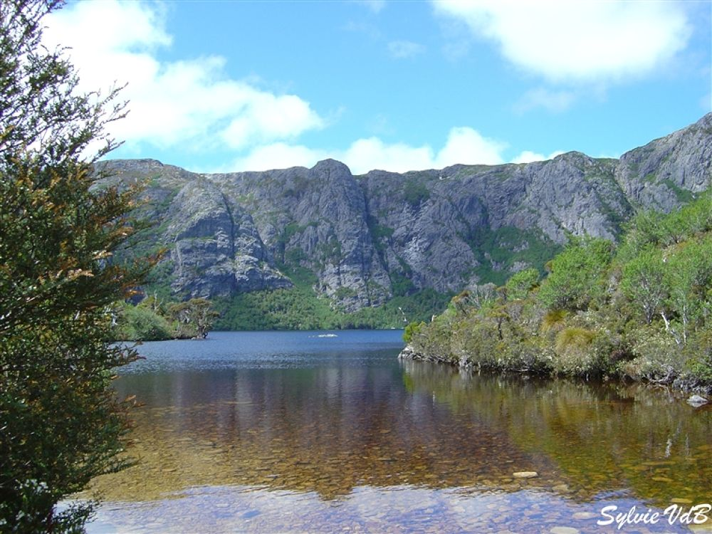 Australia Cradle Mountain Lake Tasmania by sylvievdbphotography