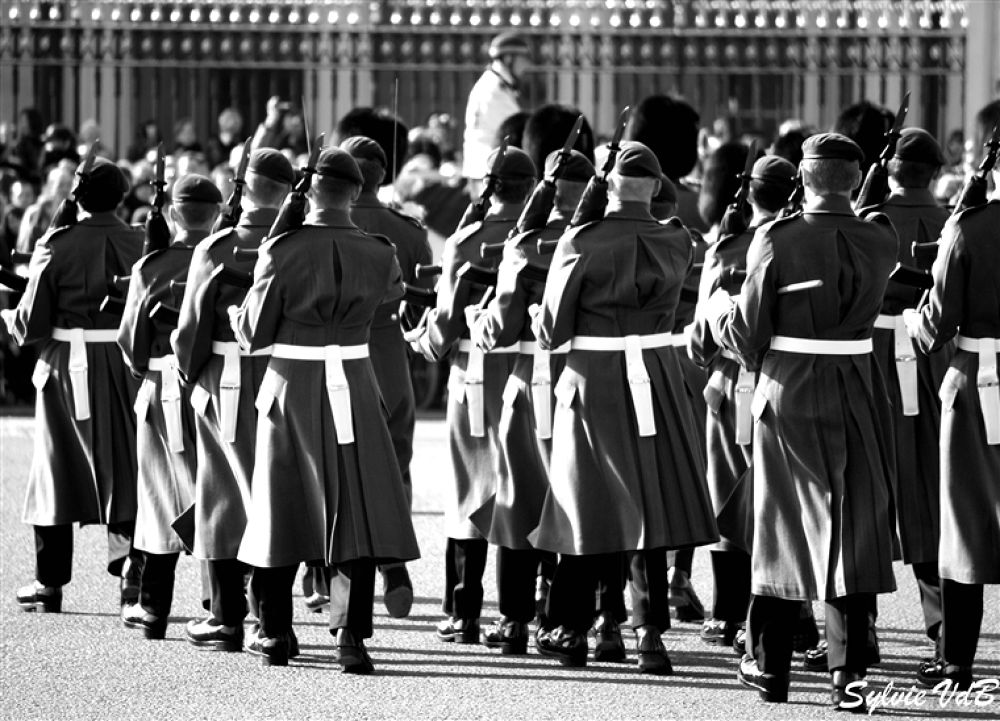 London Changing of the Guards by sylvievdbphotography