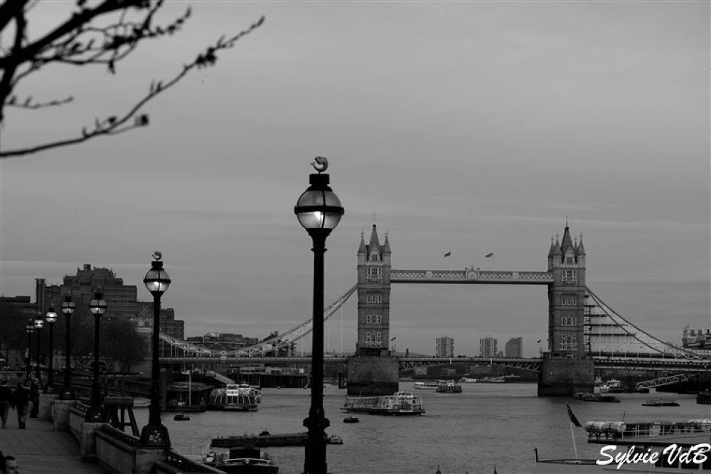 Tower Bridge by sylvievdbphotography