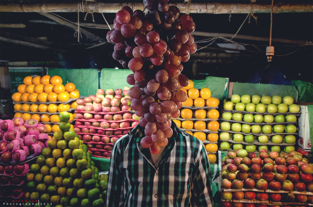 ...grape-head... by ArchQuad