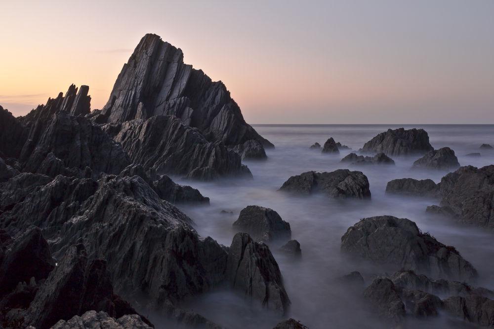Twilight Seascape by Stormrider