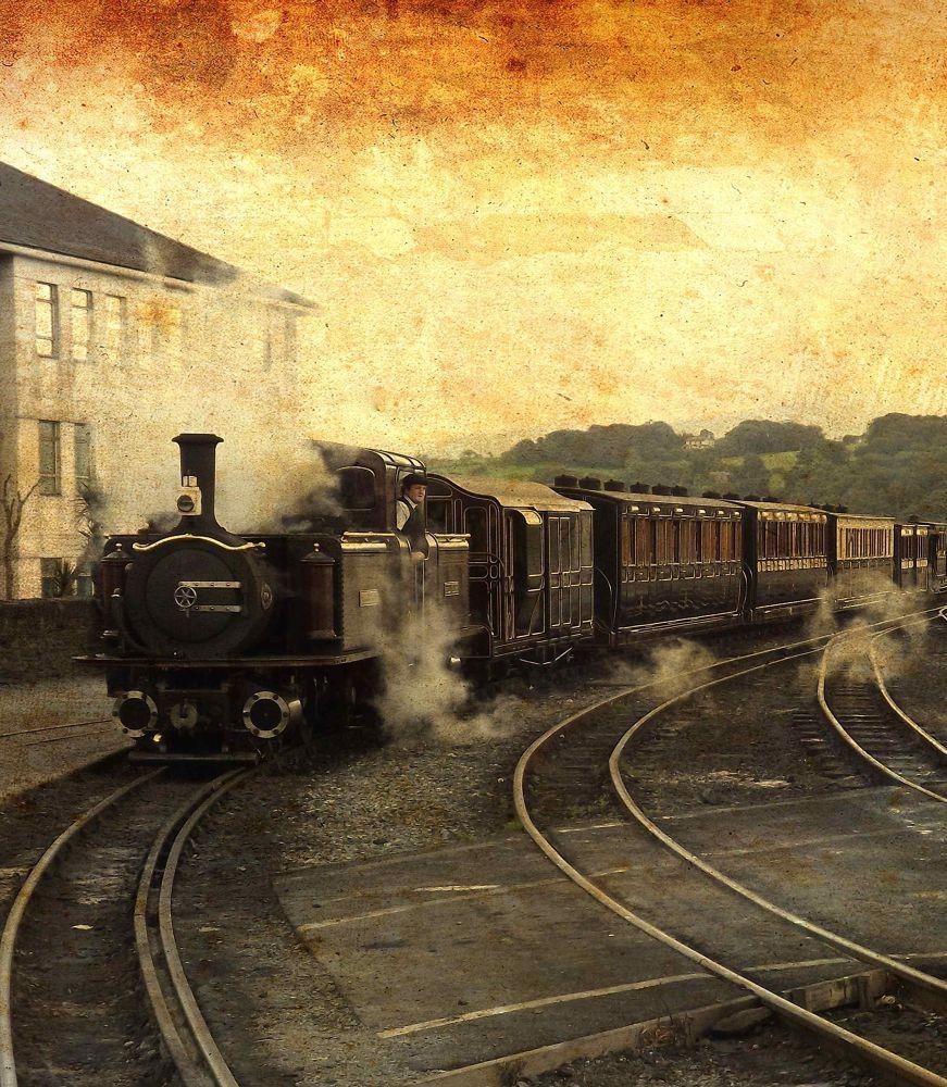 Ffestiniog Railway by Carbucketty