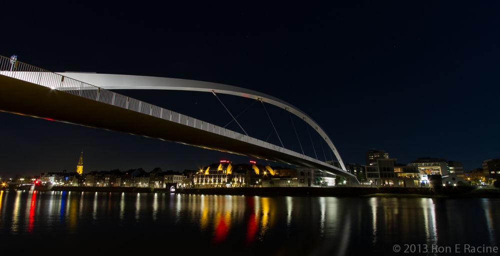 Hoge Brug at Night by RonERacine