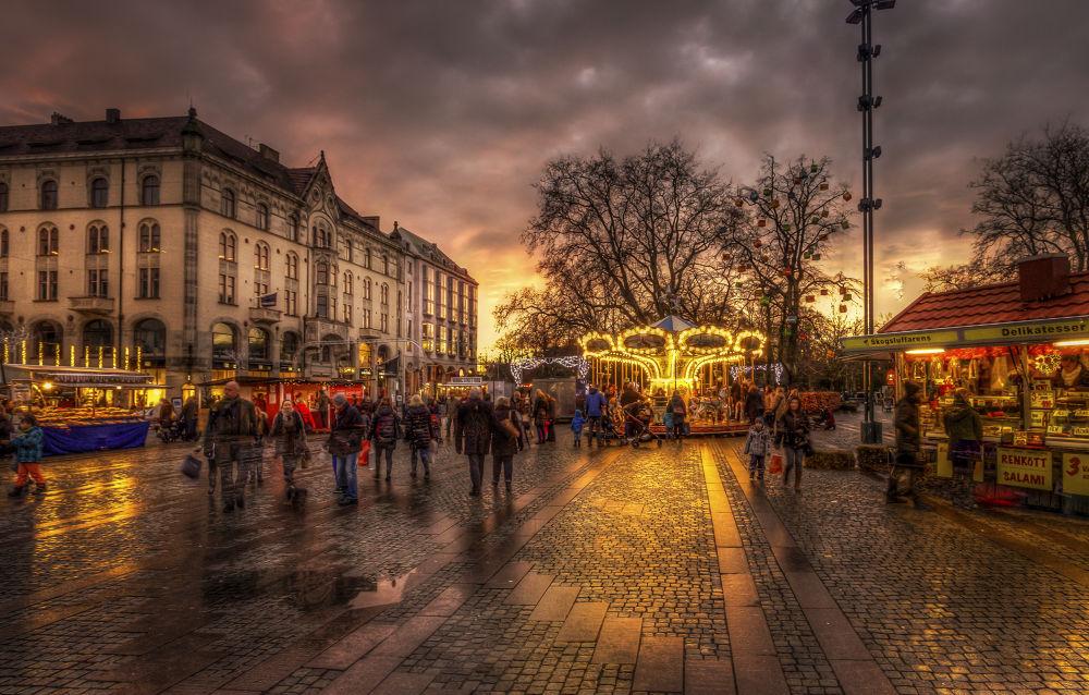 City sunset by Mirza Buljusmic
