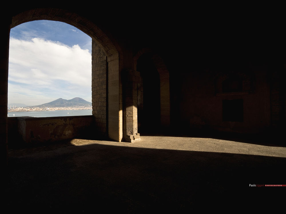 naples castel dell'Ovo today by Paolo Liggeri