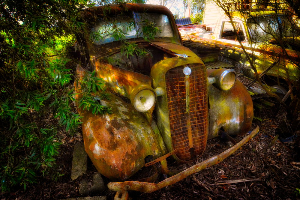 Rusty Old Car by Photography by David Rayside