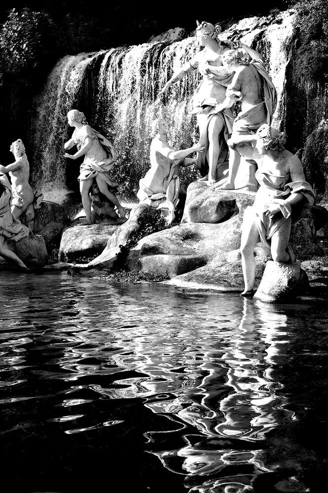 dettagli della cascata Reggia di Caserta by Ascione Rosario