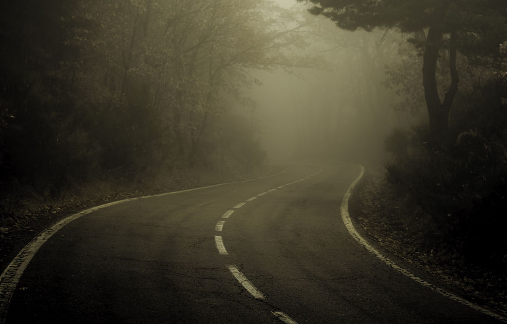 Photo in Landscape #canon #5d mkiii #road #fog #fiebla #carretera #sigma #50mm