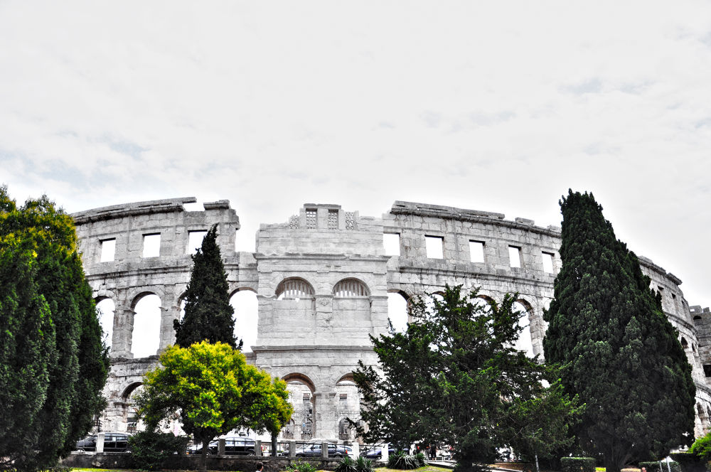 Pula Croatia by Lovi