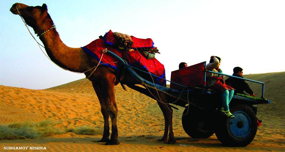 Rajasthan Desert by subhamoy mishra