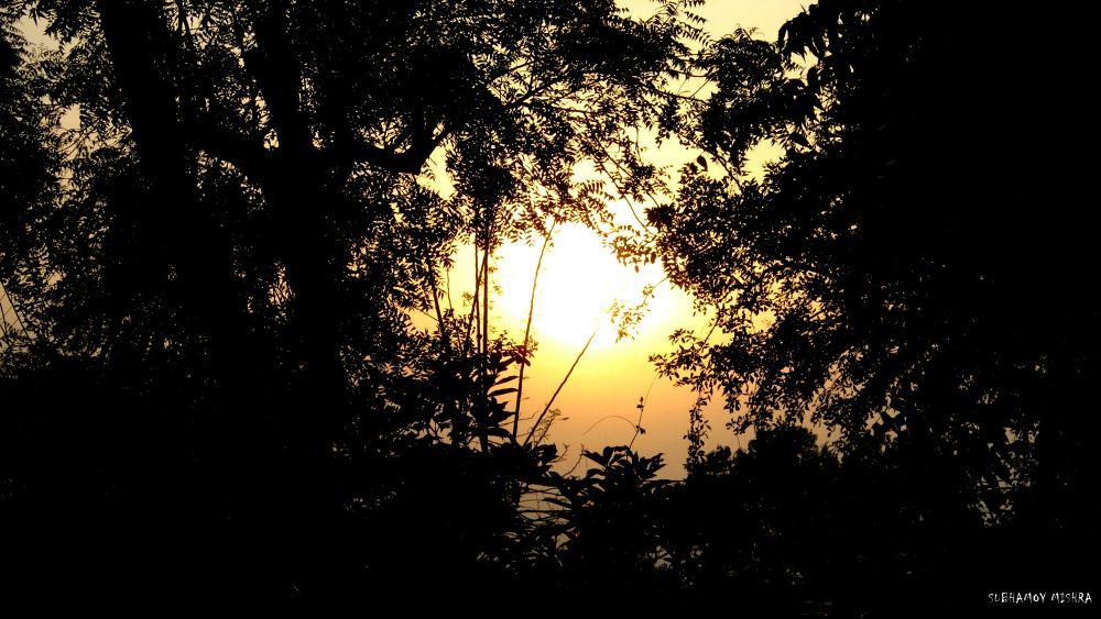 URBAN SUNSET by subhamoy mishra