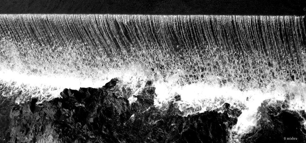 waterfall by subhamoy mishra