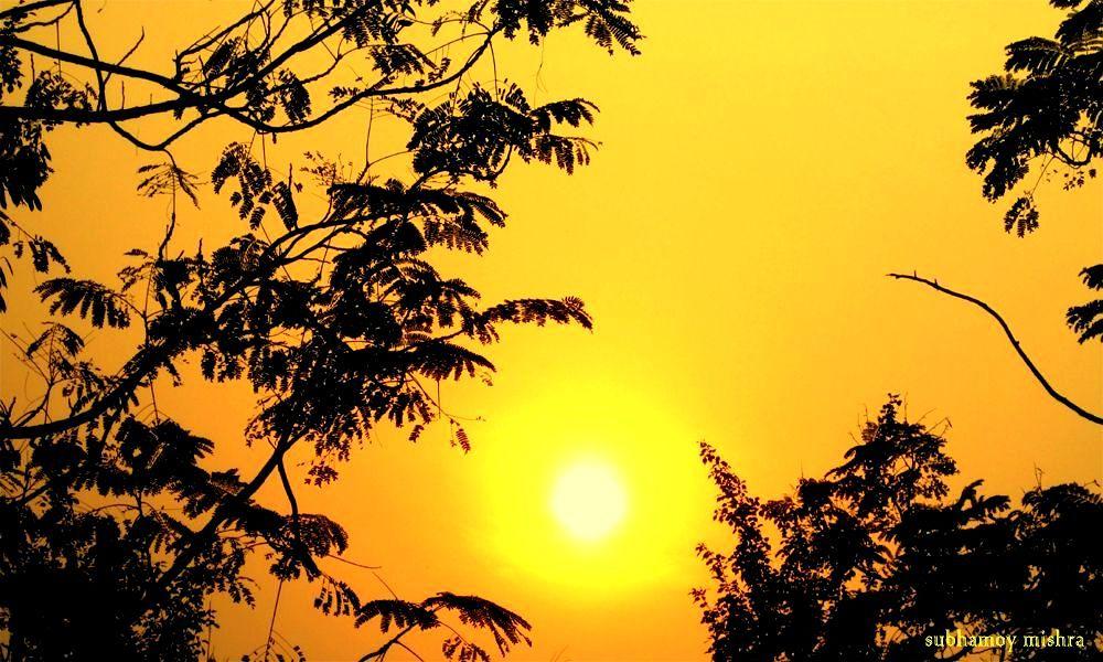 sunset by subhamoy mishra