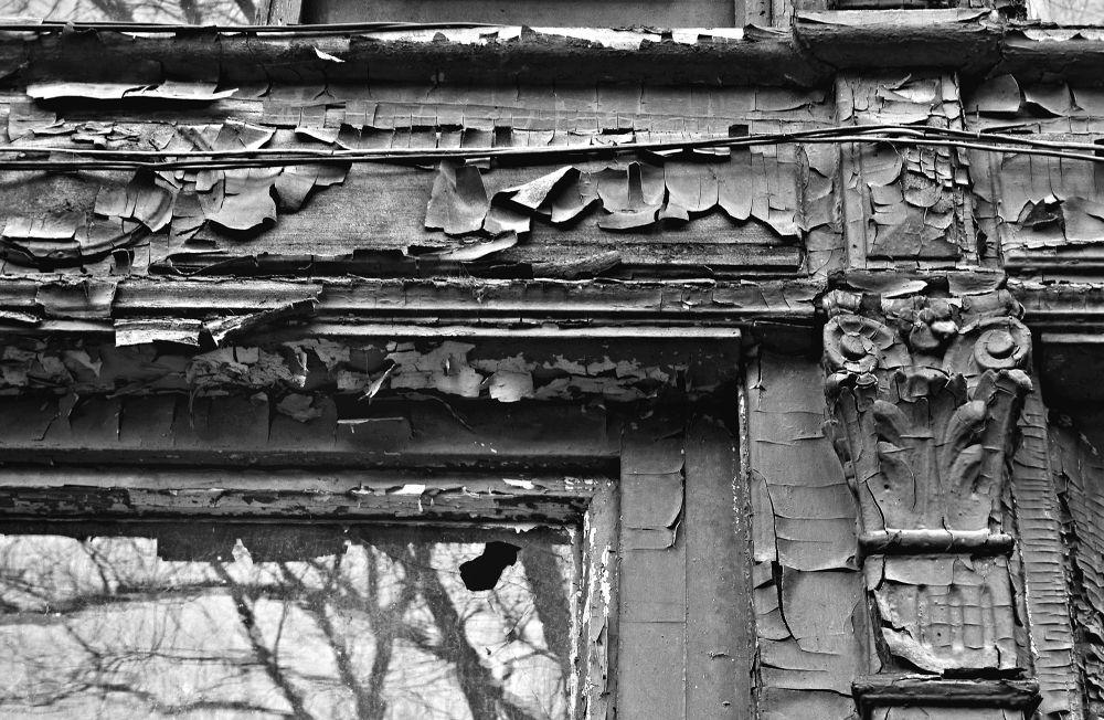 Photo in Vintage #old #abandoned #vintage #house #black #white