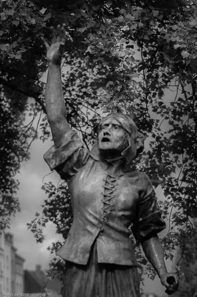 Statue de Jeanne Maillote...3 by photosdan