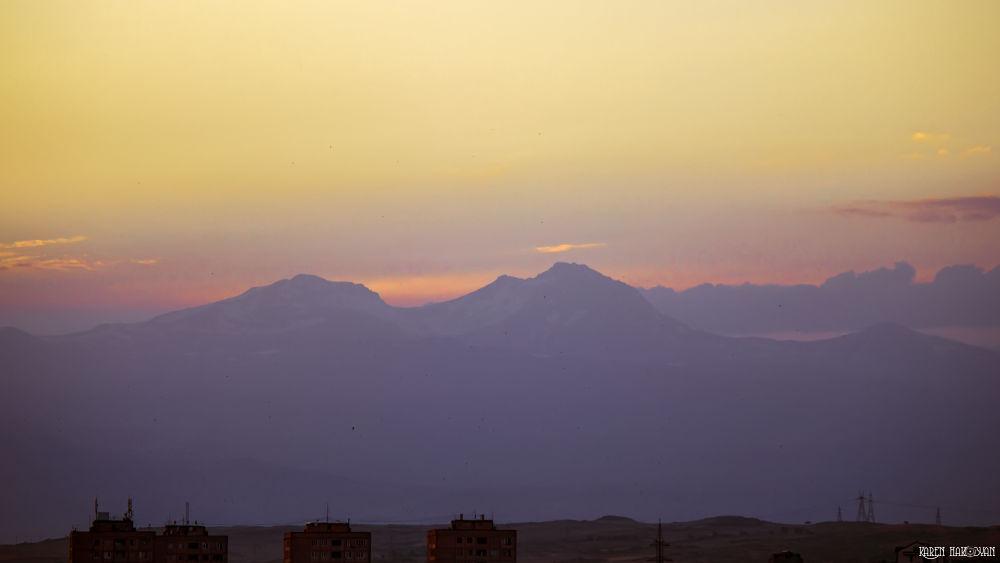 Photo in Landscape #mount aragats #aragats #mount #landscape #sunset