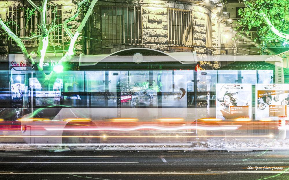 Bus stop by Kar Yan