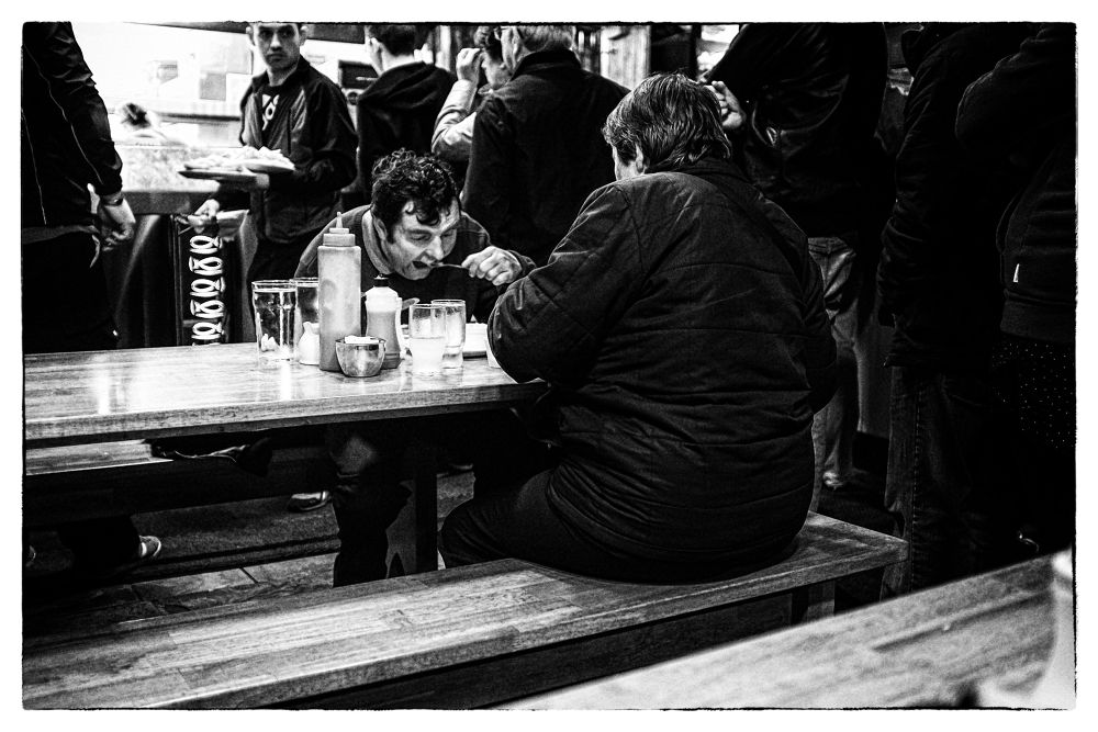 Ireland - Glaway - MC Donagh's, 22 Quay street - It is a famous Fish and Chips in Galway and it's go by Fabrice Denis Photography
