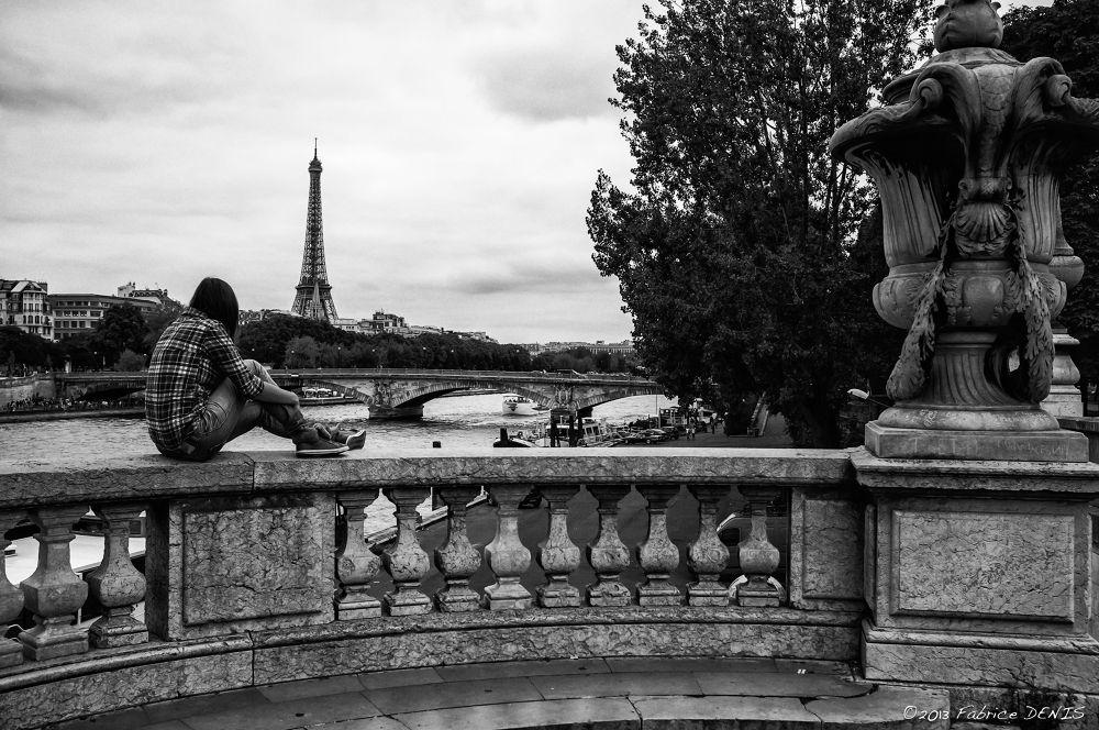 Paris - Contemplation by Fabrice Denis Photography