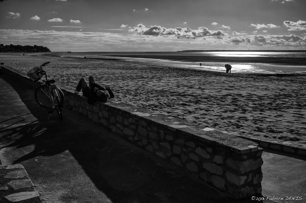 Arcachon - The Beach by Fabrice Denis Photography