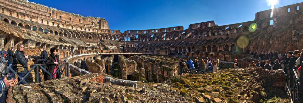 Panorama Miriam en Coliseo by jonmant