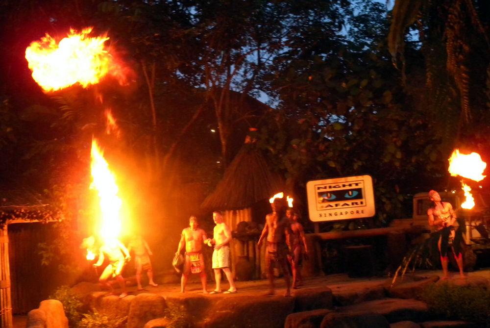 Fire performance by Mikhail Deynekin