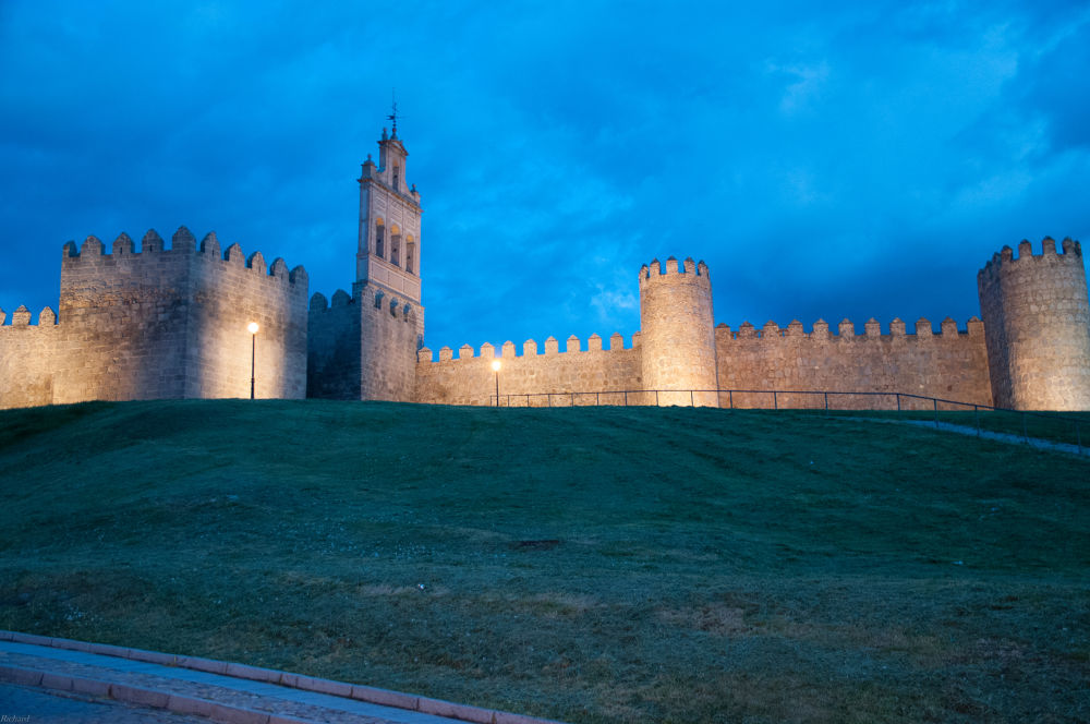The Walls of Avila by Richard Thiel Sartawsky