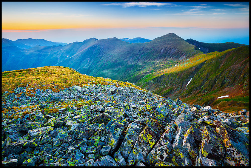 Photo in Landscape #nature #landscape #mountains #romania #sunset