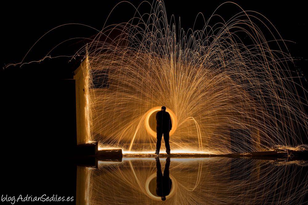 Hombre de fuego by adriansediles7