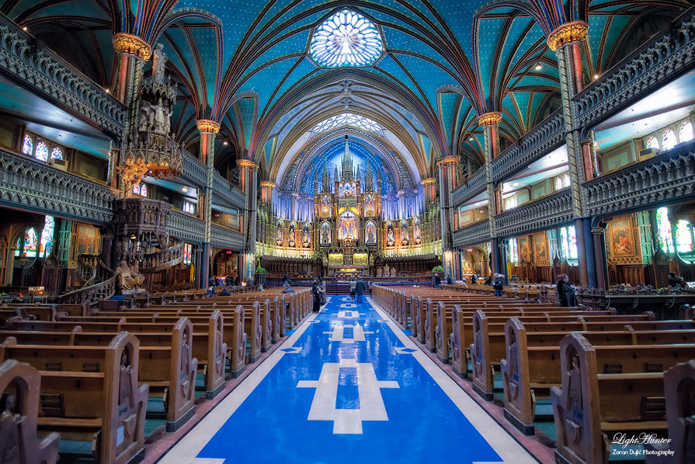 Notre Dame - Montreal  by Zoran Dujić - LightHunter