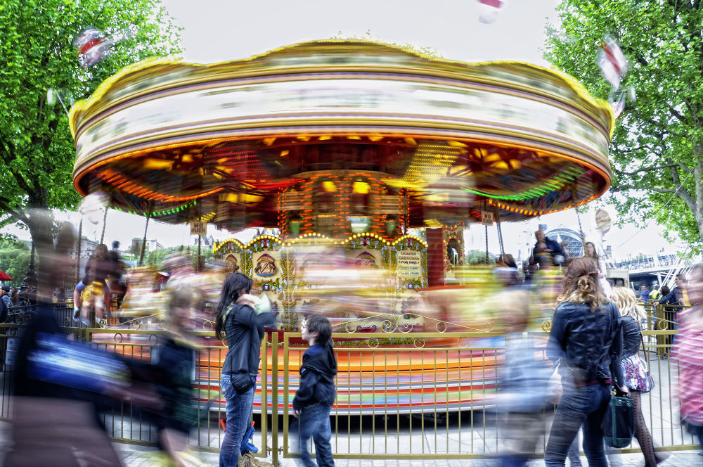 The carousel by claudianatali81
