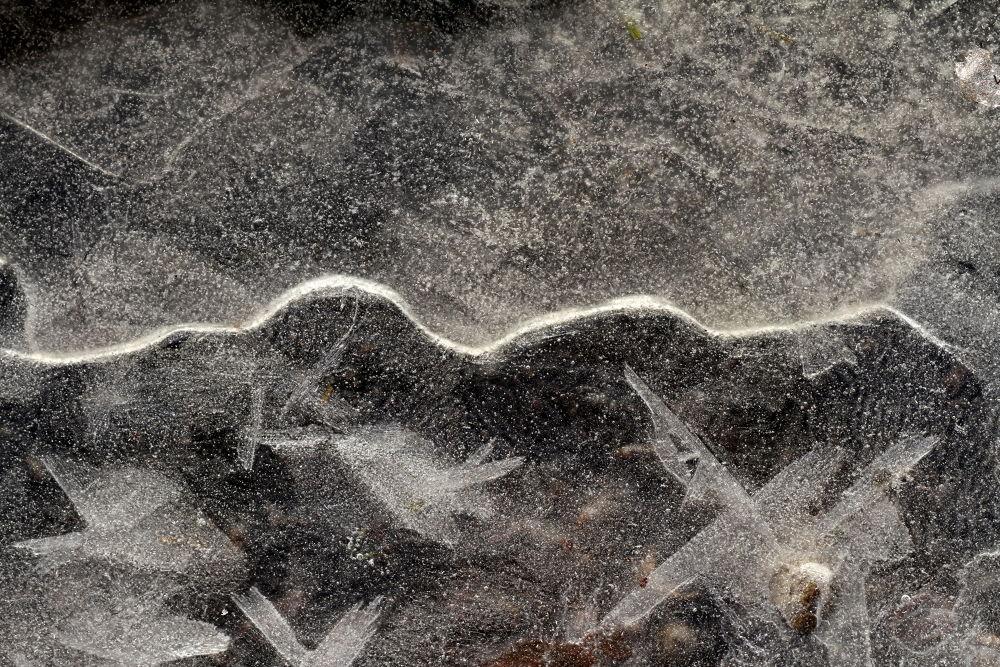 abstract ice by Rafał Ciok