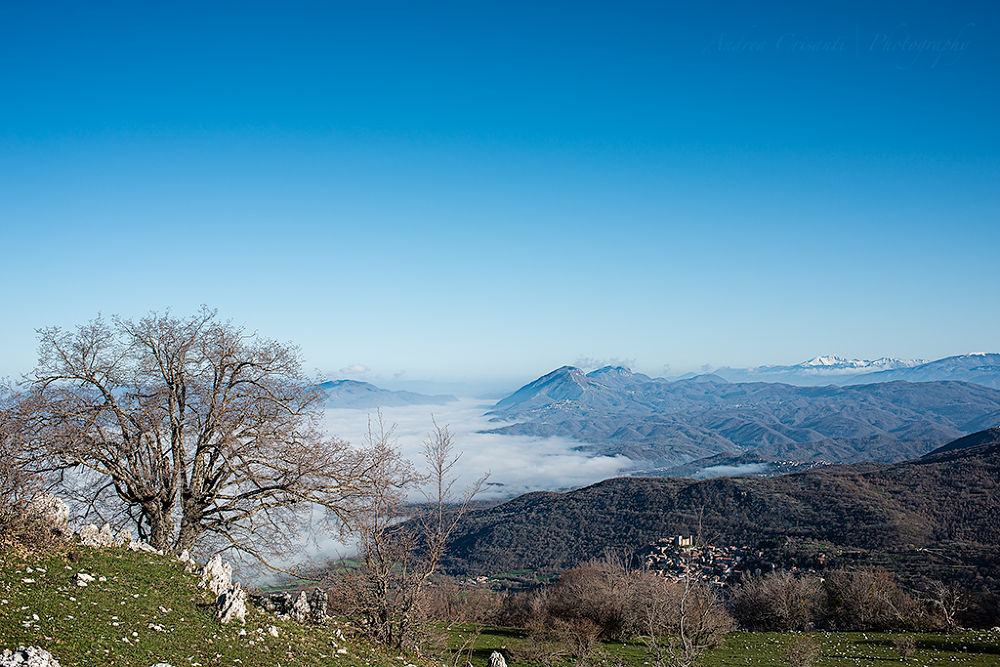 Apennines Spring Landscape by andreacrisanti