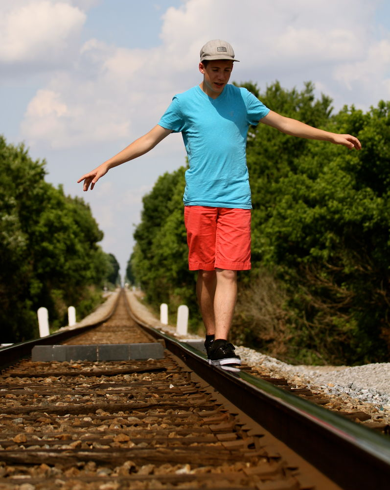 Along the tracks by AnnWeisPhotography