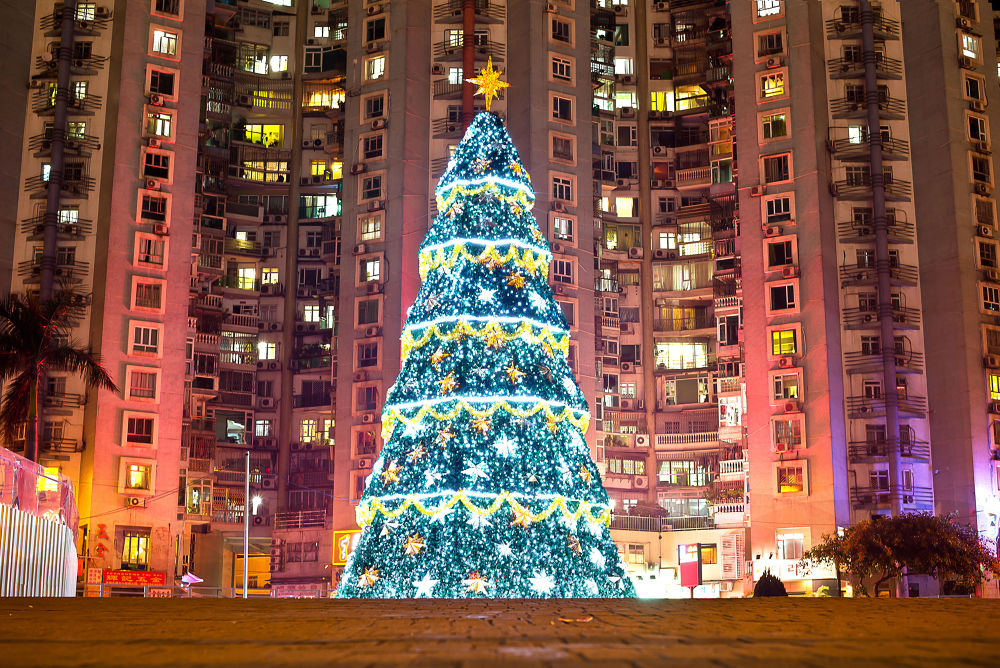 City Christmas Tree by nailsoon_c