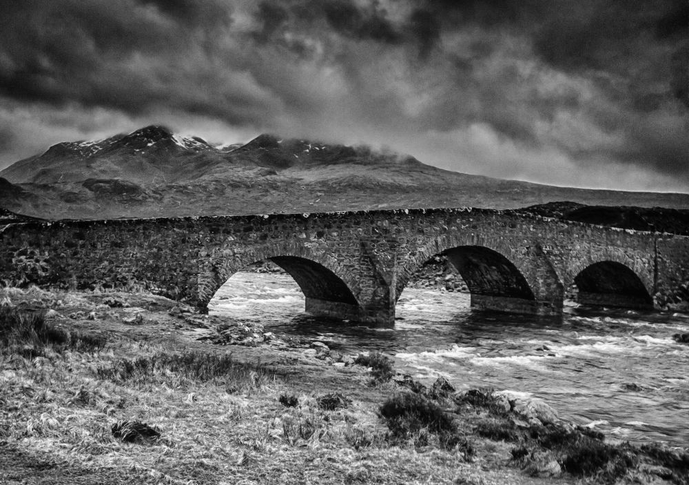 Old Sligachan Bridge by Edgar Hempen Pictures