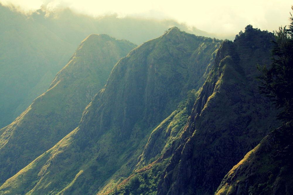 Mountain tip by TAPAS