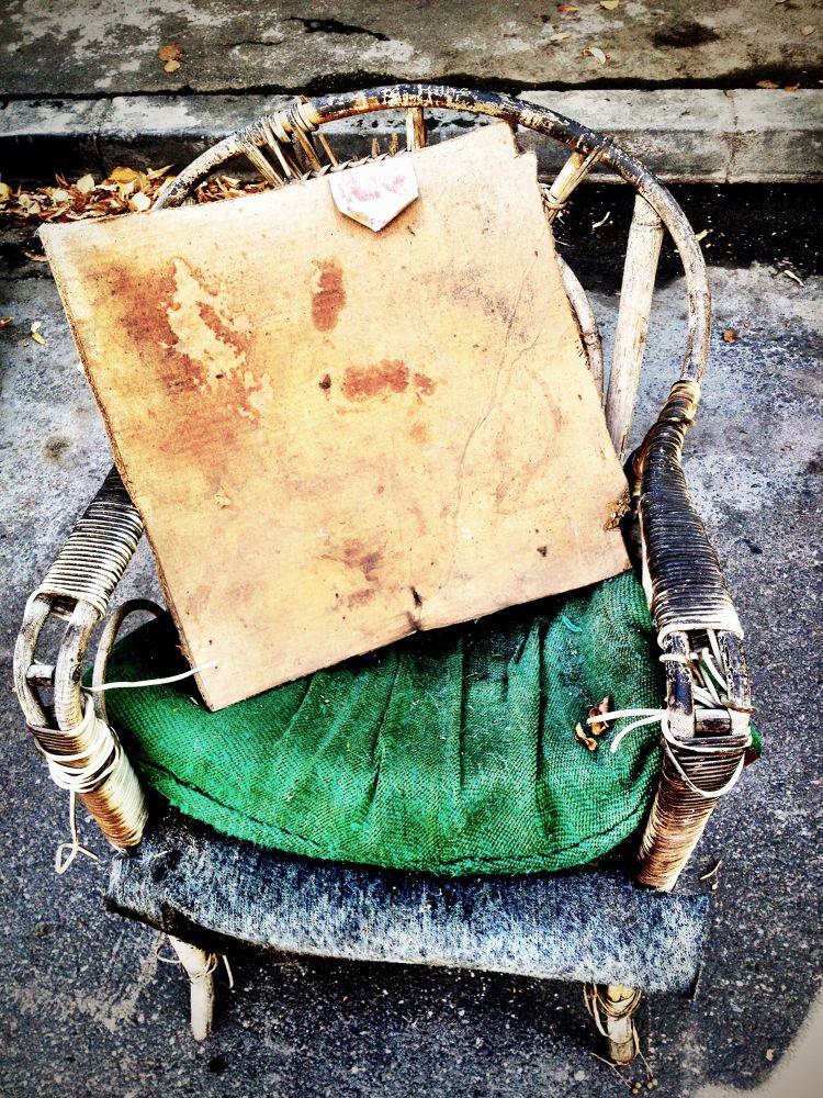 dying chair by DasSasha