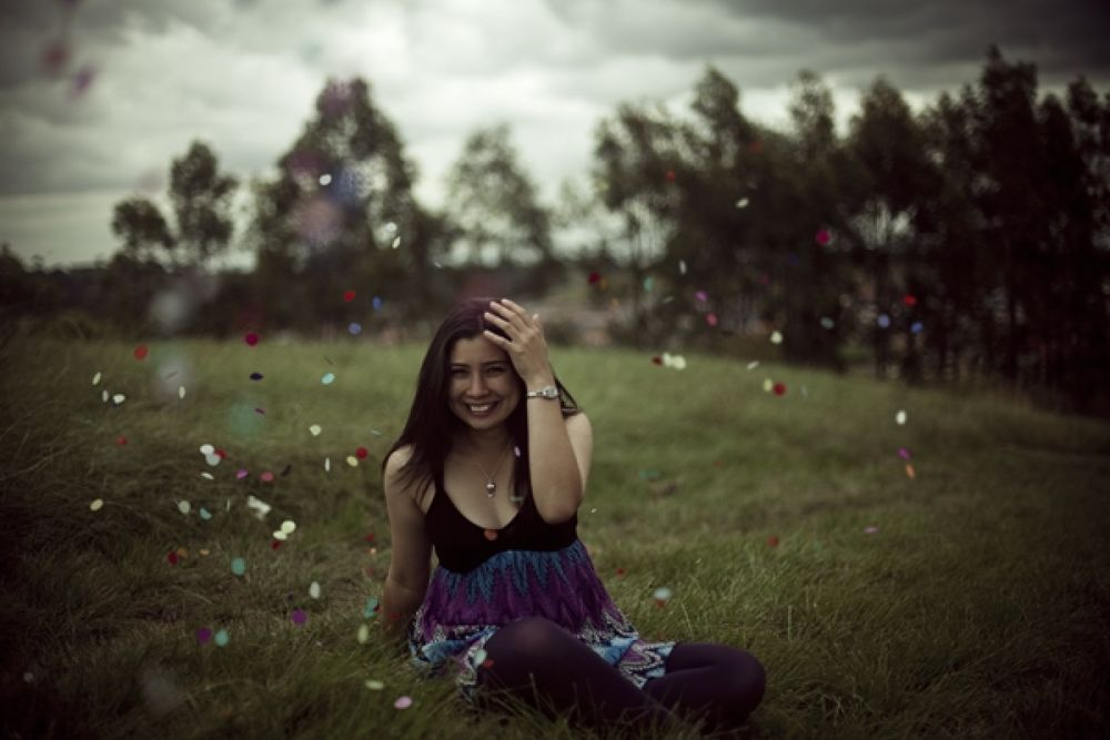 floral boots and confetti by mokhtarovich