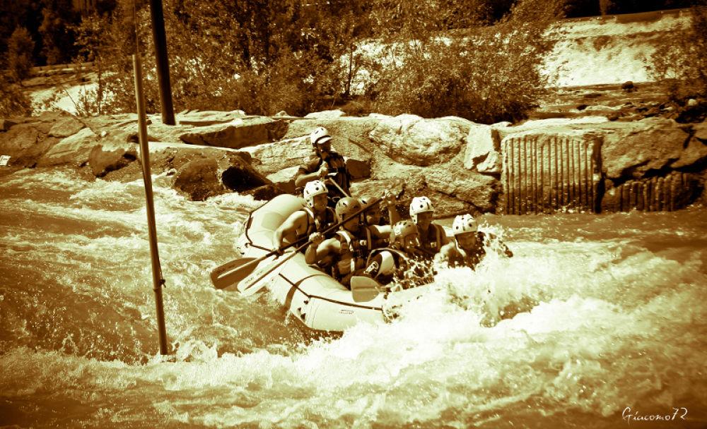 Rafting on Dora Baltea river by Giacomo72