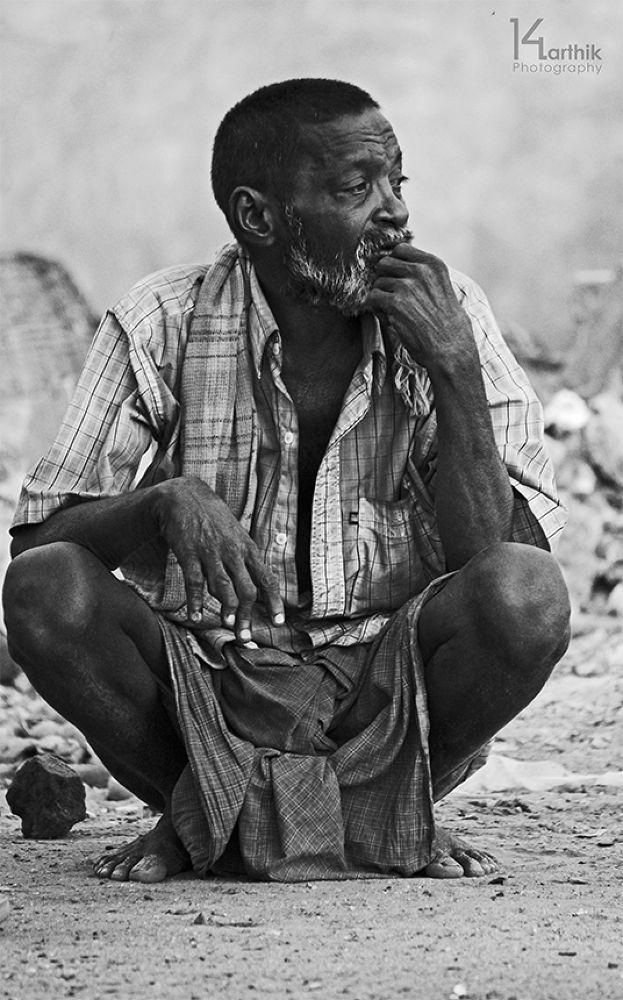 The reality of sad life! by karthikkalvan
