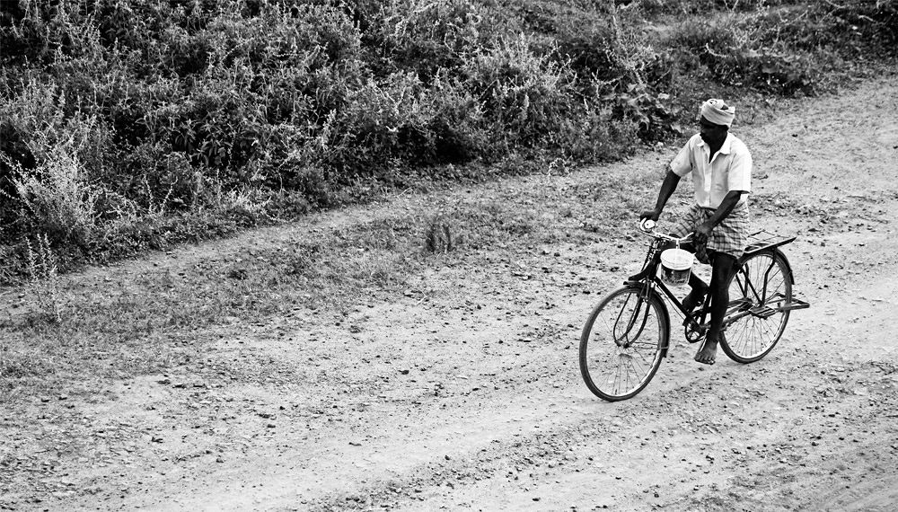 Riding for living...!!! by karthikkalvan