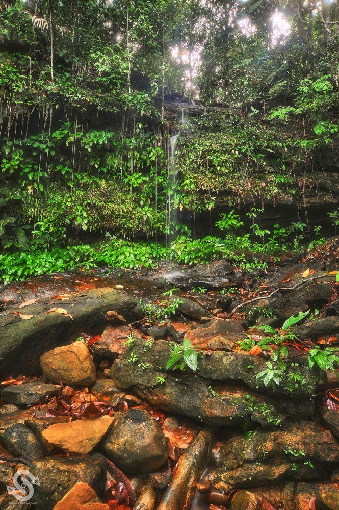 Sarawak Cultural Village Waterfall - Scene 3 by ShamsulHidayatOmar