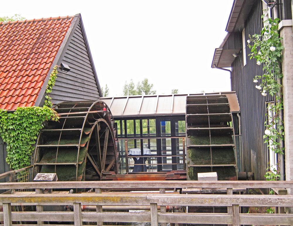 """Water Mill  """"De Volmolen"""" in Waalre, NL. by frankverhoeven1"""