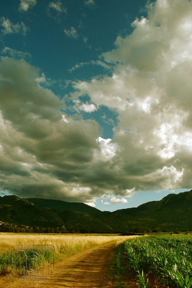 Road on the Sky  by Nickolas Mavrogiannis