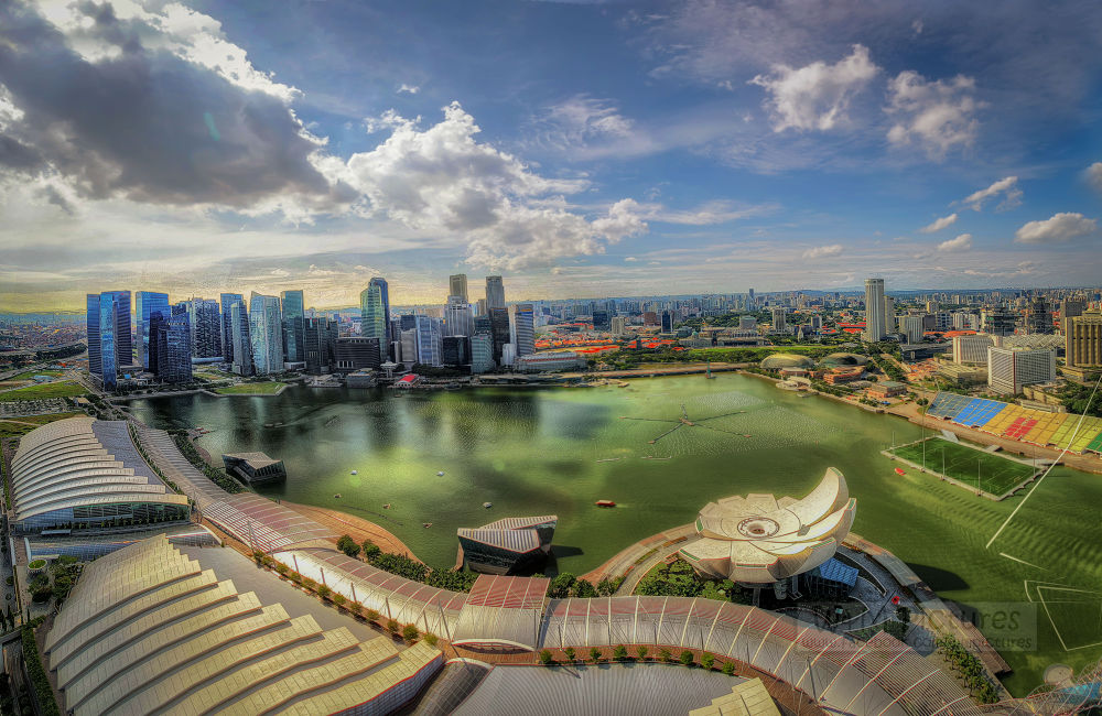 Marina Bay Sands by wameqraza
