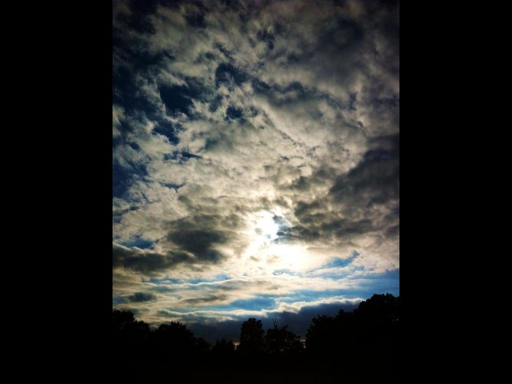 My Cloud Face  by Sophie Davis